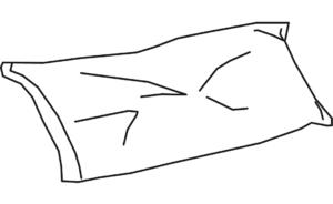 pillow slip 70 x 45