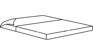 top sheet for sleep area 140 x 200