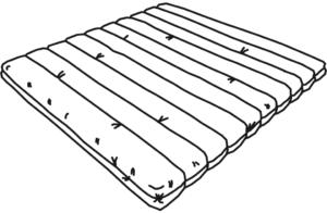 bultex + viscoelastic foam (sensus) mattresses 1 mattress 160 x 200