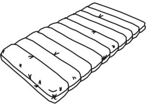 bultex mattress 1 mattress 90 x 200