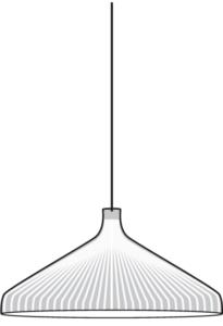 suspended ceiling light white