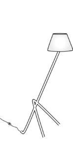 reading lamp white