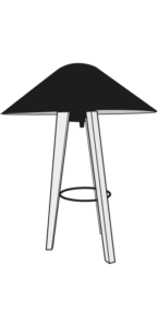 table lamp white shade