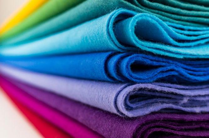 Fabrics Folded
