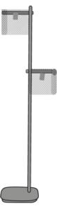 FLOOR STANDARD LAMP BRONZE